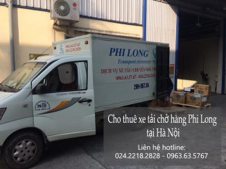 Taxi tải Phi Long tại phố Lạc Nghiệp