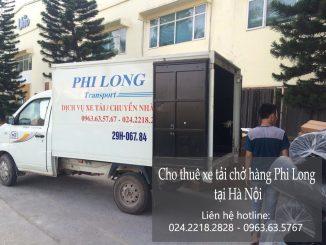 Taxi tải Phi Long tại đường Lê Duẩn