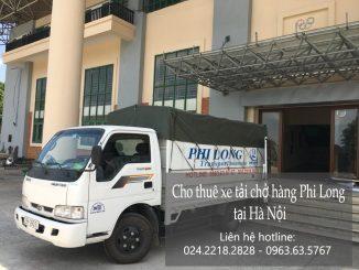 Taxi tải Phi Long tại phố Hàng Cót