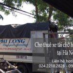 Taxi tải Phi Long tại phố Lê Hồng Phong