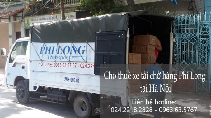 Dịch vụ cho thuê xe tải vận chuyển tại phố Châu Long