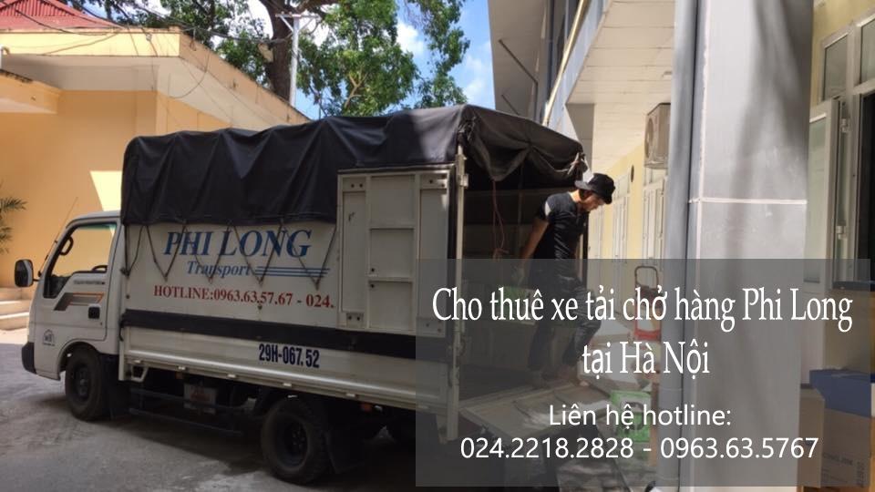 Dịch vụ cho thuê xe tải vận chuyển tại phố Trấn Vũ