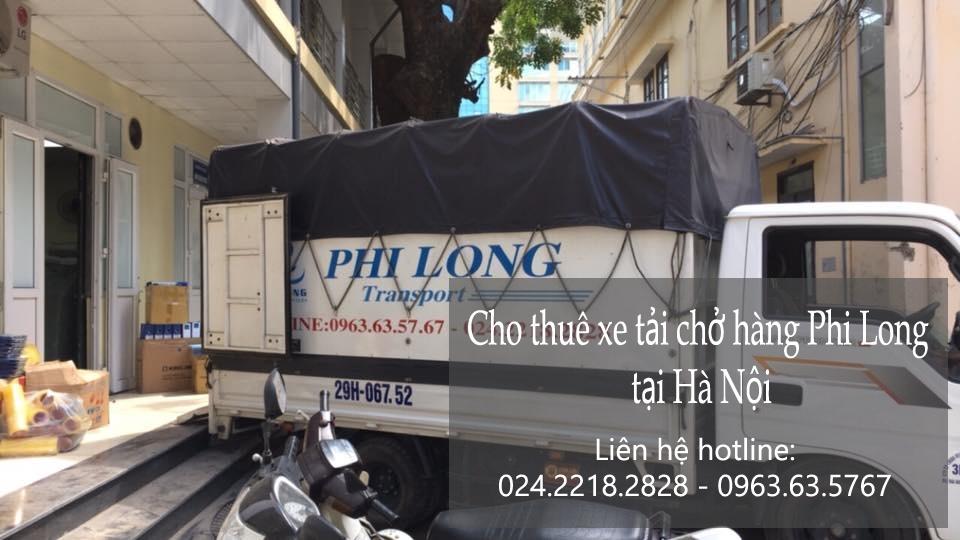 Dịch vụ cho thuê xe tải tại phố Phan Huy Ích