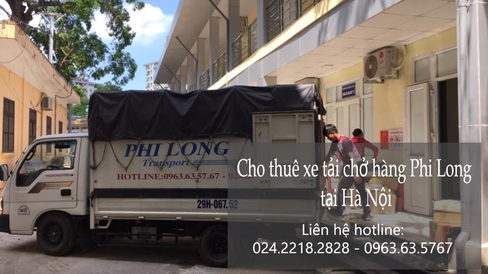 Cho thuê xe tải giá rẻ tại phố Yên Ninh