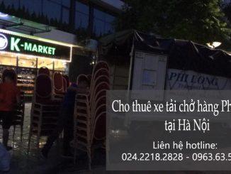 Cho thuê xe tải chở hàng giá rẻ Phi Long tại phường Yên Phụ