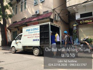 Cho thuê xe taxi tải chở hàng tại phố Thanh Am