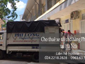 Cho thuê xe tải chở hàng tại phố Nghĩa Dũng