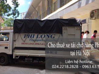 Cho thuê xe tải tại phố Trúc Bạch
