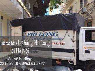 Dịch vụ cho thuê xe taxi tải phố Lạc Chính