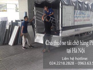 Dịch vụ cho thuê xe tải tại phố Tố Hữu