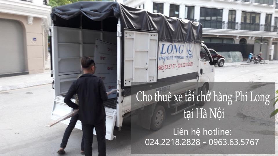 Dịch vụ taxi tải chở hàng tại phố Bạch Thái Bưởi