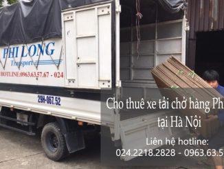 Cho thuê xe taxi tải vận chuyển tại phố Tô Ngọc Vân