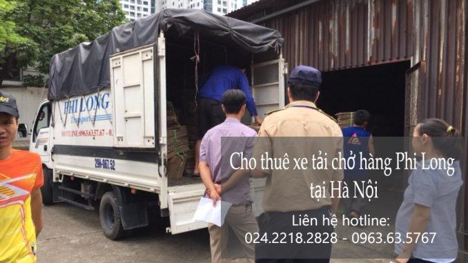 Dịch vụ cho thuê xe tải tại phố Trần Quý Cáp