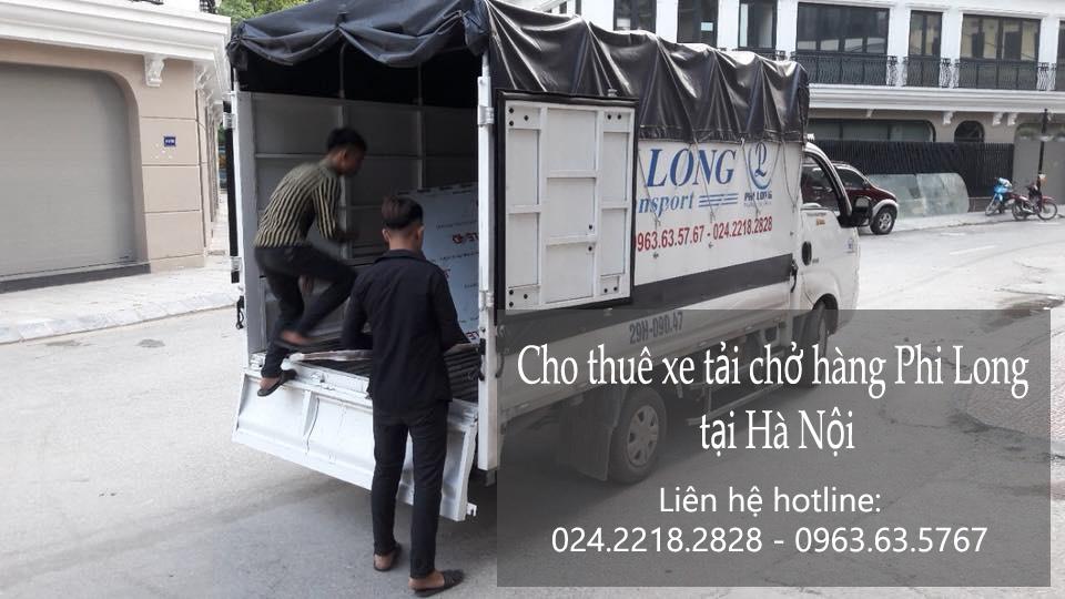 Dịch vụ cho thuê xe tải tại phố Nguyễn Đình Hoàn