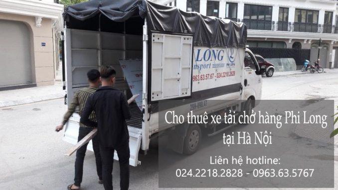 Cho thuê xe tải giá rẻ tại phố Trần Kim Xuyến