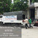 Taxi tải Phi Long tại phố Lê Văn Hưu