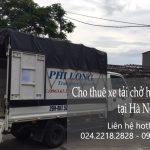 Dịch vụ cho thuê xe tải tại phố Trịnh Công Sơn