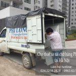 Dịch vụ cho thuê xe tải tại phố Quảng Bá