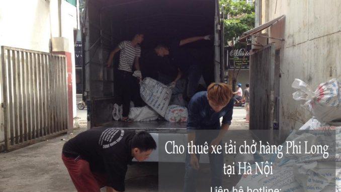 Dịch vụ cho thuê xe tải chở hàng tại phường Cổ Nhuế