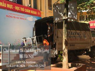 Cho thuê xe tải chở hàng tại phường Thụy Phương