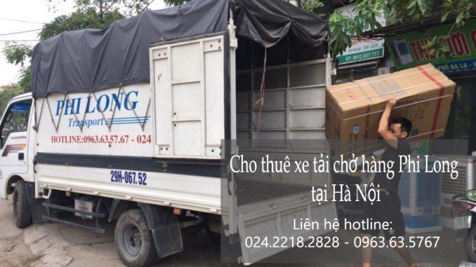Dịch vụ taxi tải Phi Long tại phố Hoa Lâm
