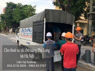 Dịch vụ taxi tải Phi Long tại Hàng Bún