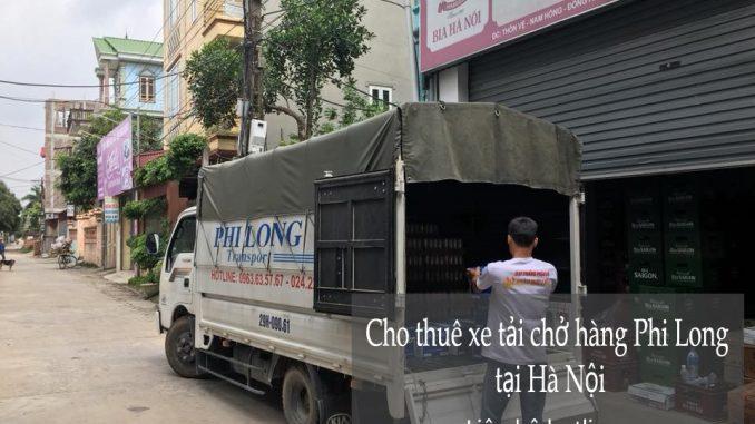 Dịch vụ cho thuê xe tải tại phố Phúc Lộc