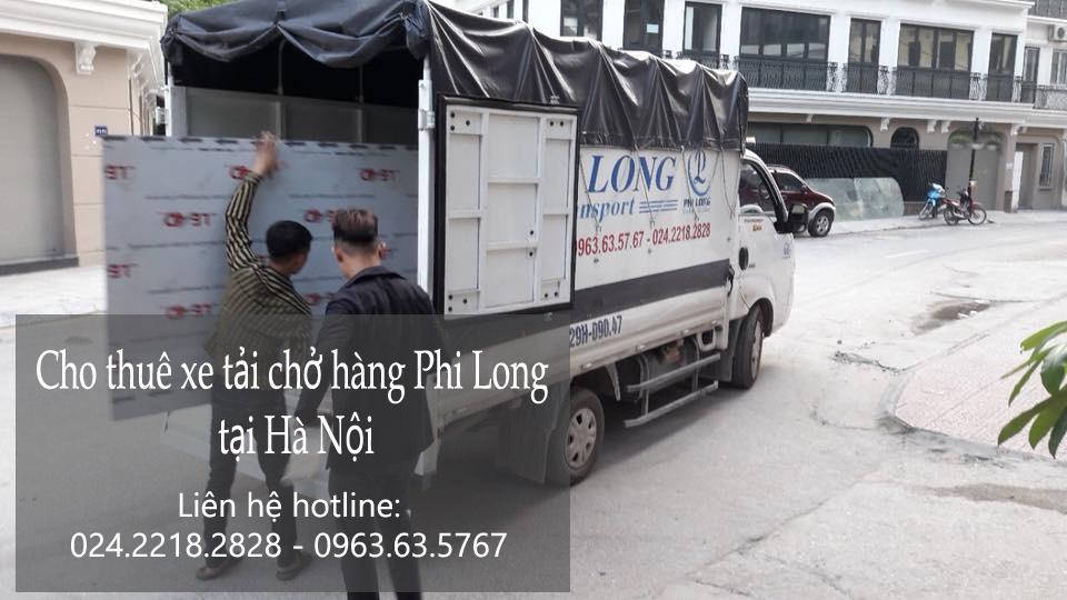 Dịch vụ cho thuê xe tải tại đường Sùng Khang