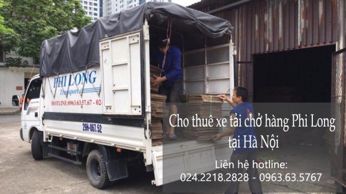 Dịch vụ cho thuê xe tải tại phố Thượng Mạo