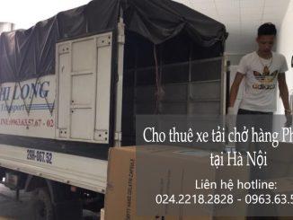 Dịch vụ cho thuê xe tải tại phố Đỗ Đình Thiện