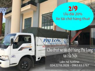 Cho thuê xe tải chở hàng tại phường Phú La