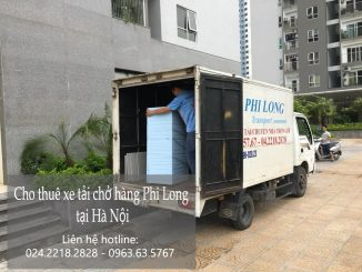 Dịch vụ cho thuê xe tải tại phố Yên Phúc