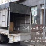 Cho thuê xe tải vận chuyển tại khu đô thị Long Hưng