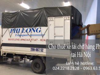 Dịch vụ cho thuê xe tải tại phố Thép Mới