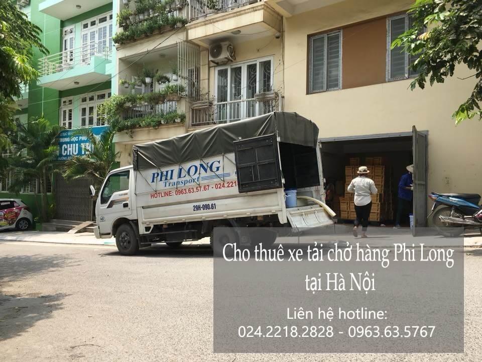 Dịch vụ cho thuê xe tải chở hàng tại ngõ Châu Hoàng