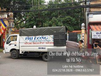Dịch vụ cho thuê xe tải chở hàng tại phố Yên Bình