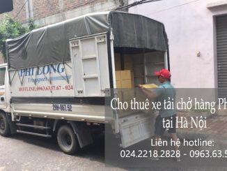 Dịch vụ taxi tải Phi Long tại đường Nghi Tàm 2019