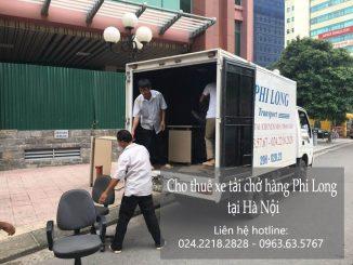 Dịch vụ taxi tải giá rẻ tại phố Hồ Giám