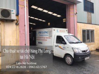 Dịch vụ cho thuê xe tải tại phố Hạ Yên