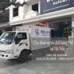 Dịch vụ taxi tải Phi Long tại phố Cầu Gỗ