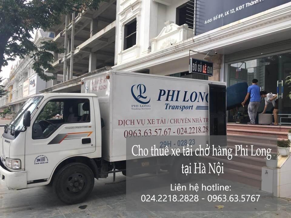 Dịch vụ taxi tải Phi Long tại phố Nguyễn Như Đổ 2019