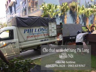 Dịch vụ taxi tải Phi Long tại phố Giải Phóng