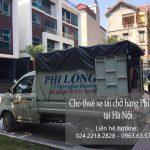 Dịch vụ taxi tải Phi Long tại đường Hồ Tùng Mậu