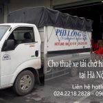 Dịch vụ taxi tải Phi Long tại đường Mậu Lương
