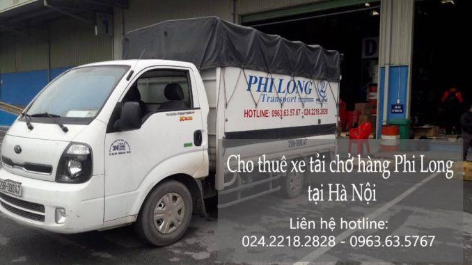 Dịch vụ taxi tải Phi Long tại phố Cổ Tân