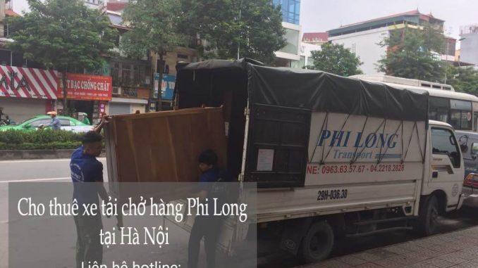Dịch vụ taxi tải Phi Long tại phố Đông Tác