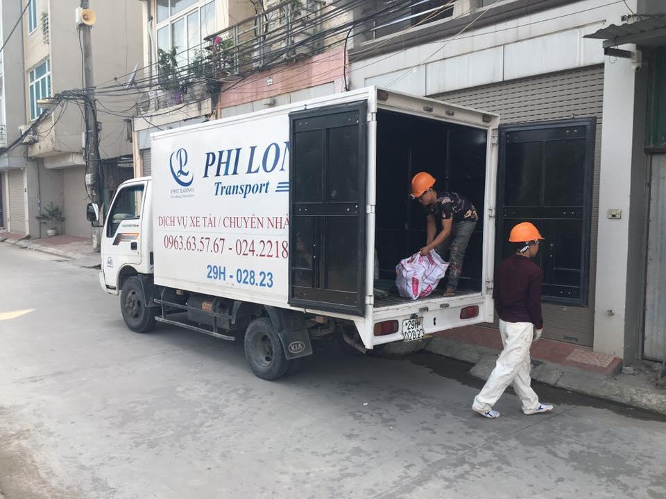 Cho thuê xe tải chở hàng tại phường Hà Cầu