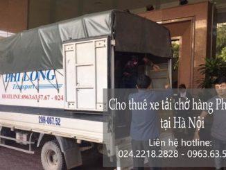 Cho thuê xe tải chở hàng tại phường Văn Quán