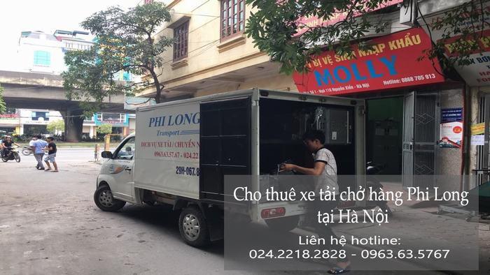 Dịch vụ cho thuê xe tải tại phố Phan Trù Tiên