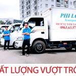 Dịch vụ taxi tải Phi Long tại phố Hàng Cháo